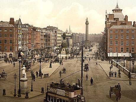 Sackville St (present day O' Connell St.)